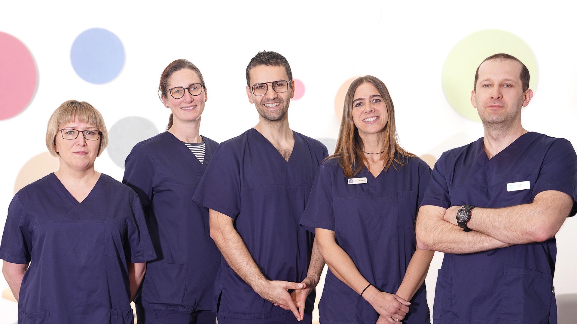Team  Dr. Bora Akyürek   Praxis für Allgemeinmedizin